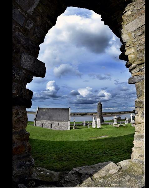 Clonmacnoise Monastery, Co.Offaly II