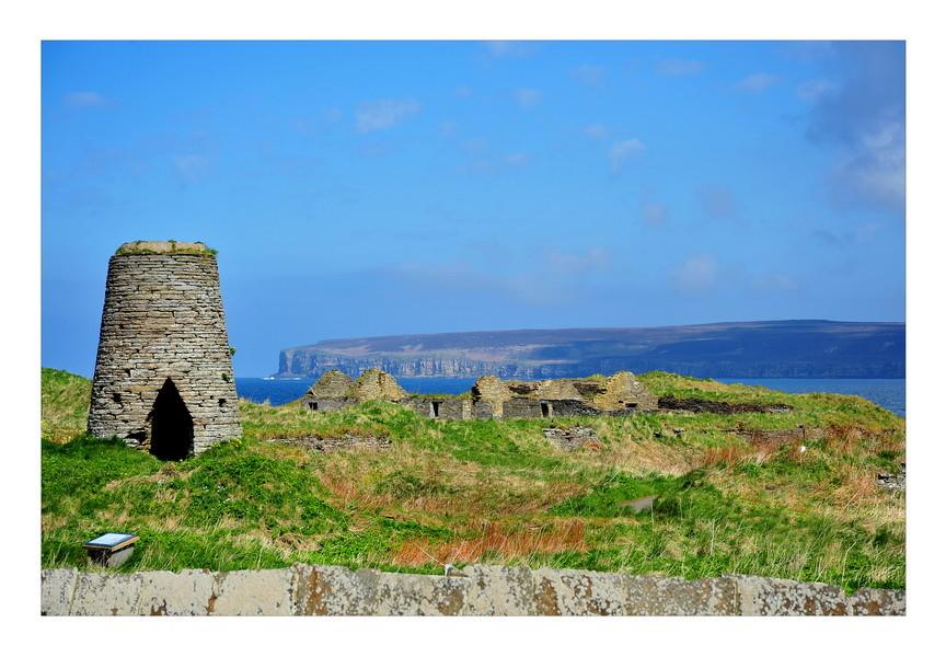 Blick vom Festland zur Insel Hoy / Orkney
