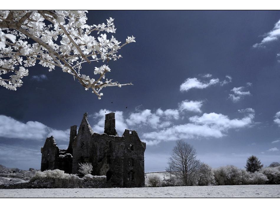 Castle bei Ross Carbery II (Infrarot)