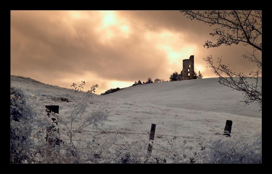 Castle Barrett / Mallow - Co. Cork I (Infrarot)
