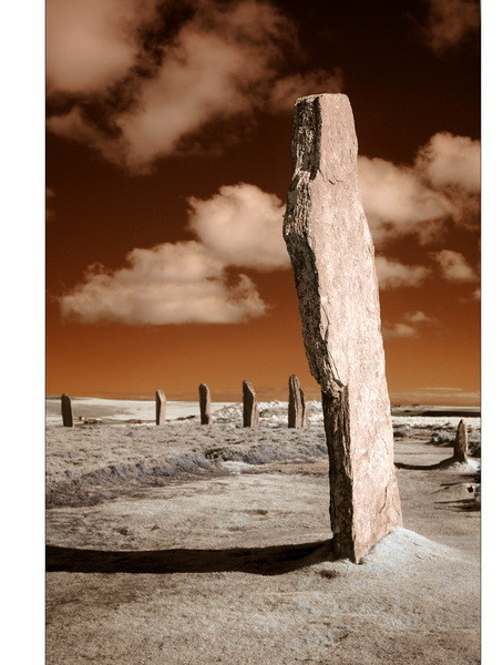 Ring Of Brodgar / Mainland, Orkney VII (Infrarot)