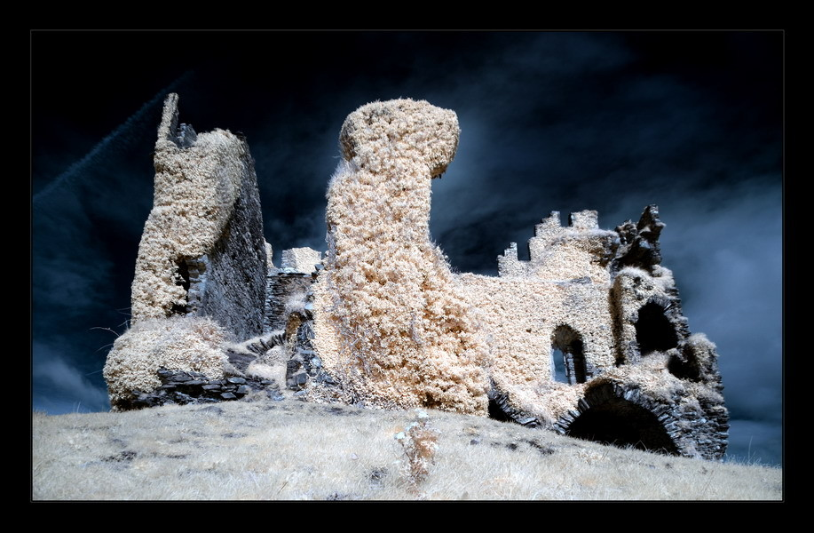 Ballycarbery Castle, Iveragh Peninsula, Co. Kerry V (Infrarot)