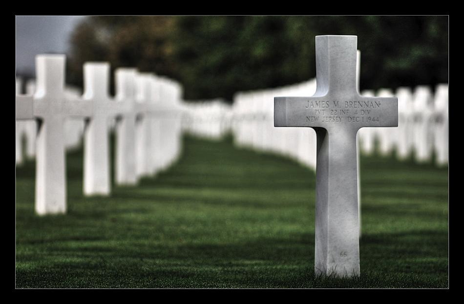US-Soldatenfriedhof mit Gedenkstätte bei Henri-Chapelle V