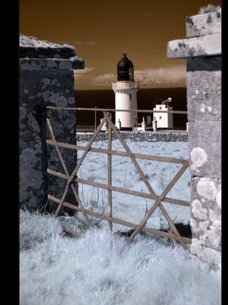 Dunnet Head / Der nördlichste Punkt der britischen Hauptinsel II (Infrarot)