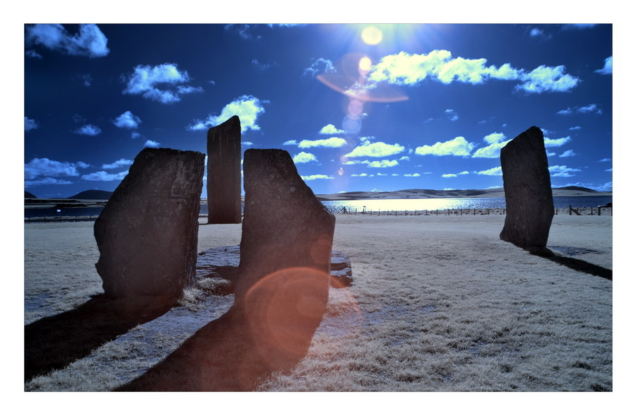 Standing Stones of Stenness / Mainland, Orkney III (Infrarot)