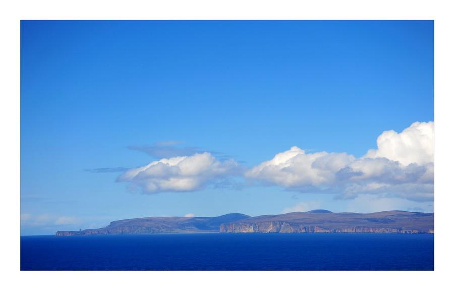 Dunnet Head mit Blick auf die Insel Hoy / Orkney