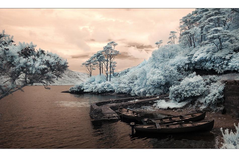Doo Lough Pass / Connemara VII (Infrarot)