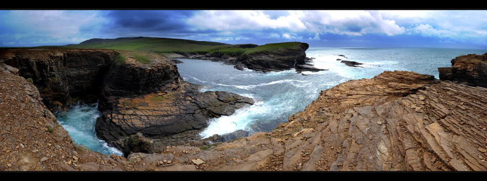Orkney Island / Cliffs of Yesnaby