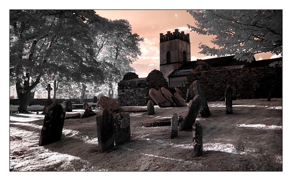 Church of Ireland - St. James`s Stradbally II (Infrarot)