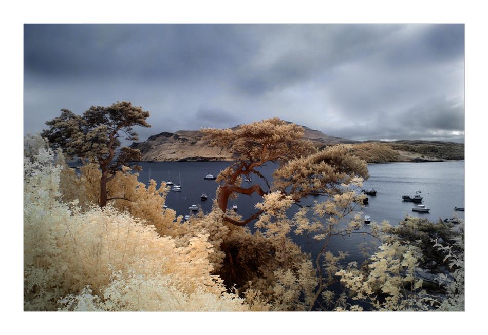 Isle of Skye / Portree (Infrarot)