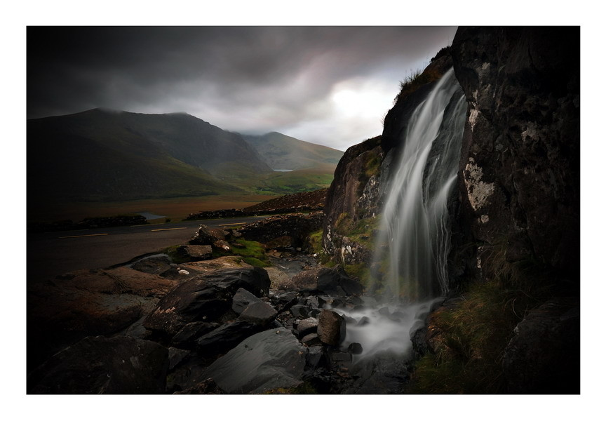 Connor Waterfall, Connor Pass, Dingle Peninsula, Co.Kerry