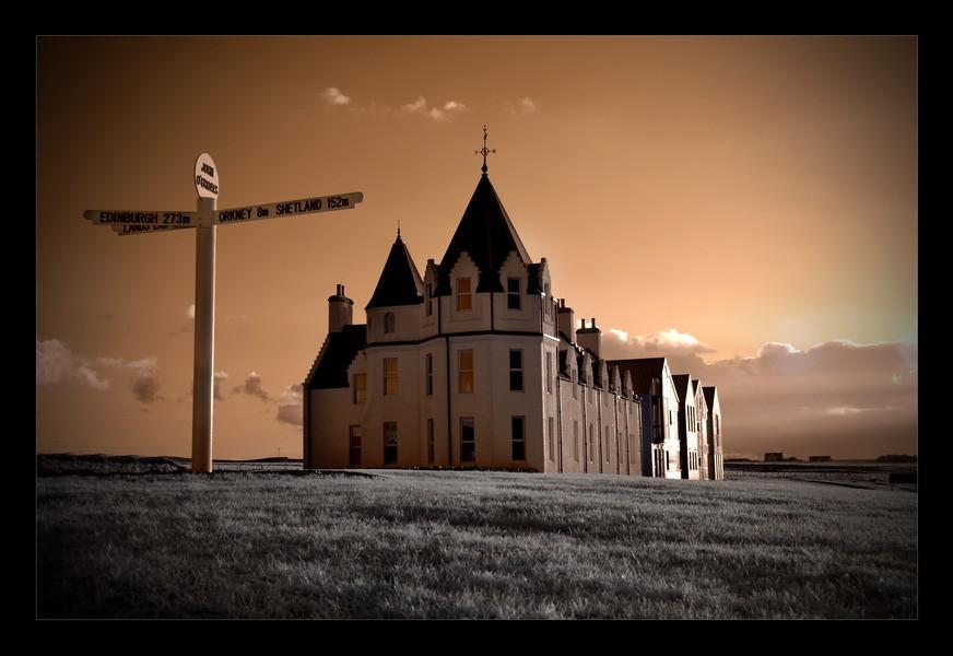 John o' Groats / Das letzte Haus Schottlands II (Infrarot)