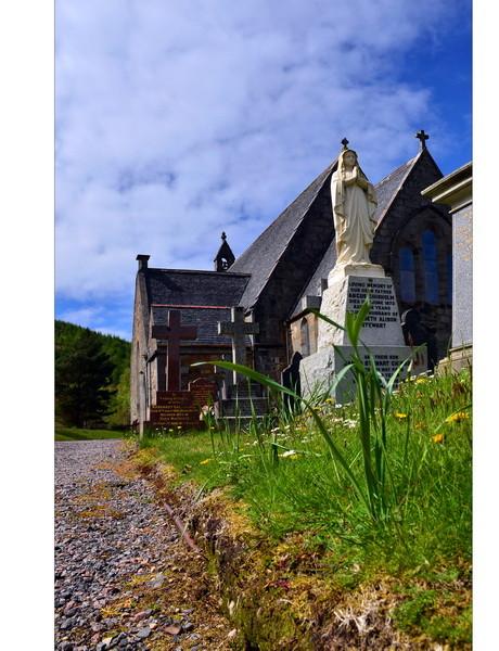 Old Cemetery, Loch Leven, Eingang zum Glen Coe, Highlands II