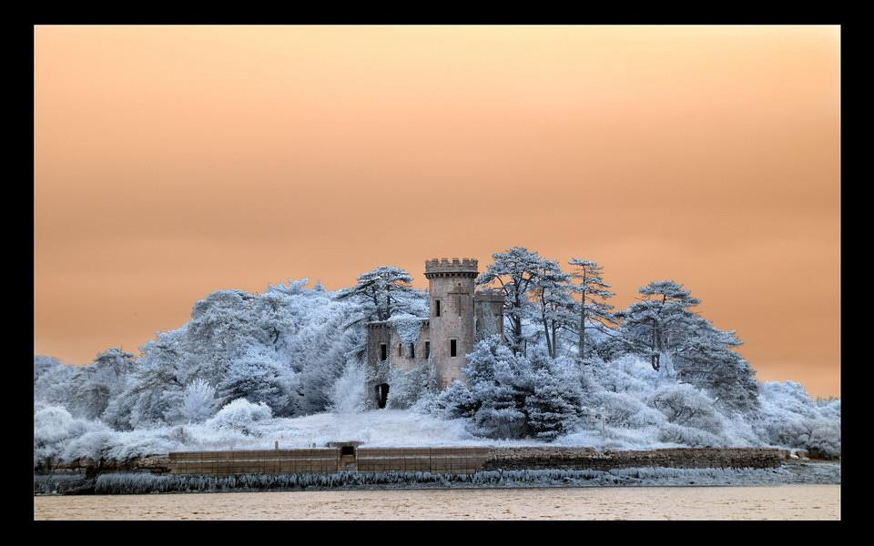 Fota Tower / Fota Island - Cork I (Infrarot)