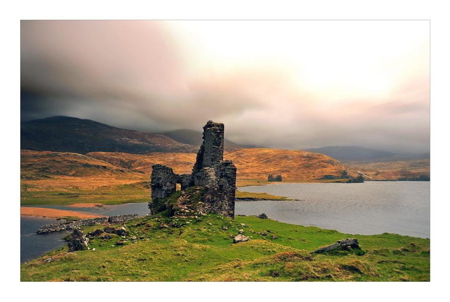 Ardvreck Castle, Loch Assynt, Sutherland, Highlands VIII