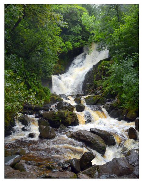 Torc Waterfall, Killarney Nationalpark IV