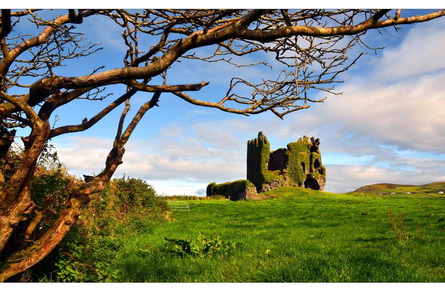 Ballycarbery Castle, Iveragh Peninsula, Co. Kerry V