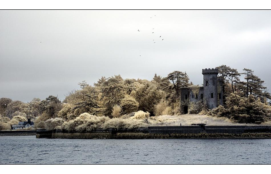 Fota Tower / Fota Island - Cork II (Infrarot)