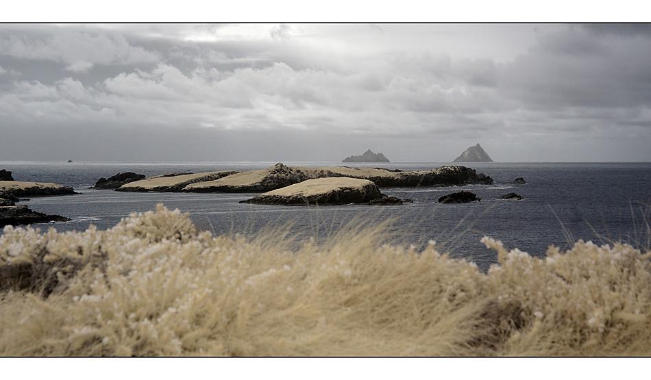 Valentia Island Co. Kerry mit Blick auf The Skellig Islands I (Infrarot)