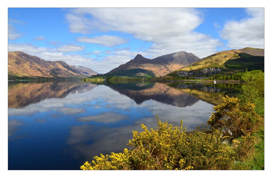 Loch Leven, Eingang zum Glen Coe, Highlands