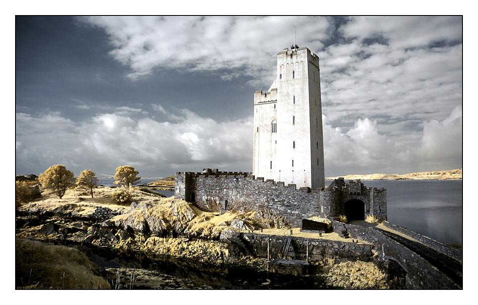 Kilcoe Castle / Southwest of County Cork V (Infrarot)