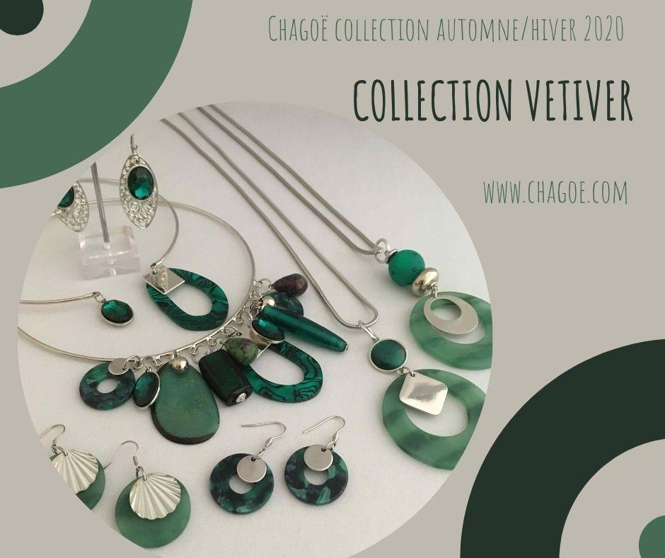 Collection VETIVER, Créations Automne/Hiver Chagoë 2020