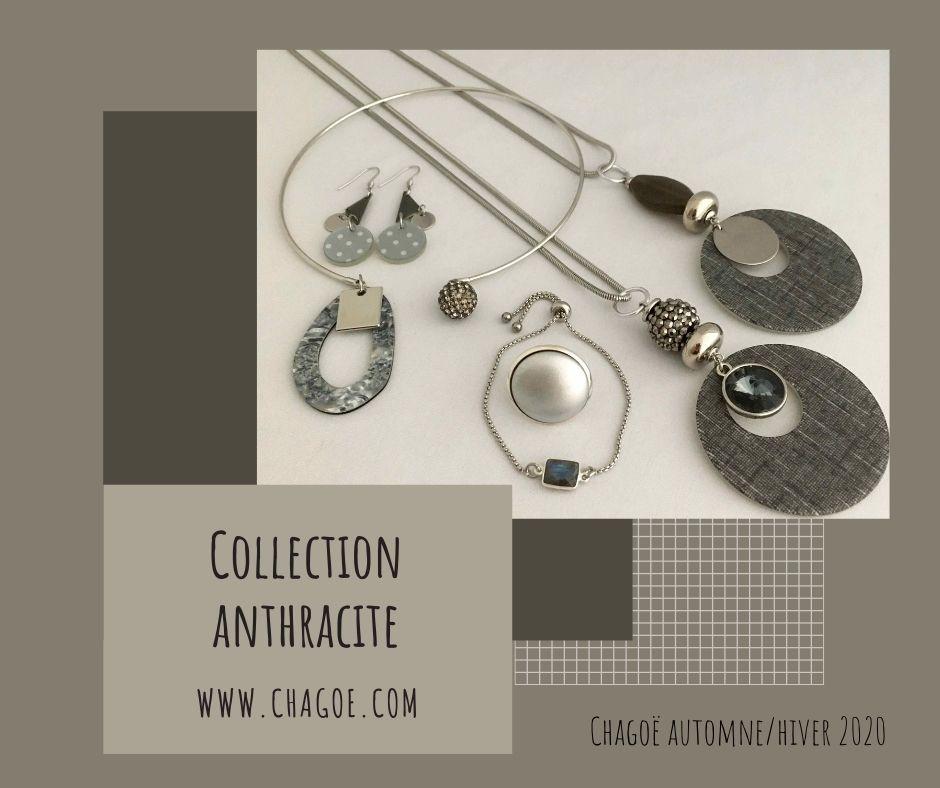 Collection ANTHRACITE, Créations Automne/Hiver Chagoë 2020