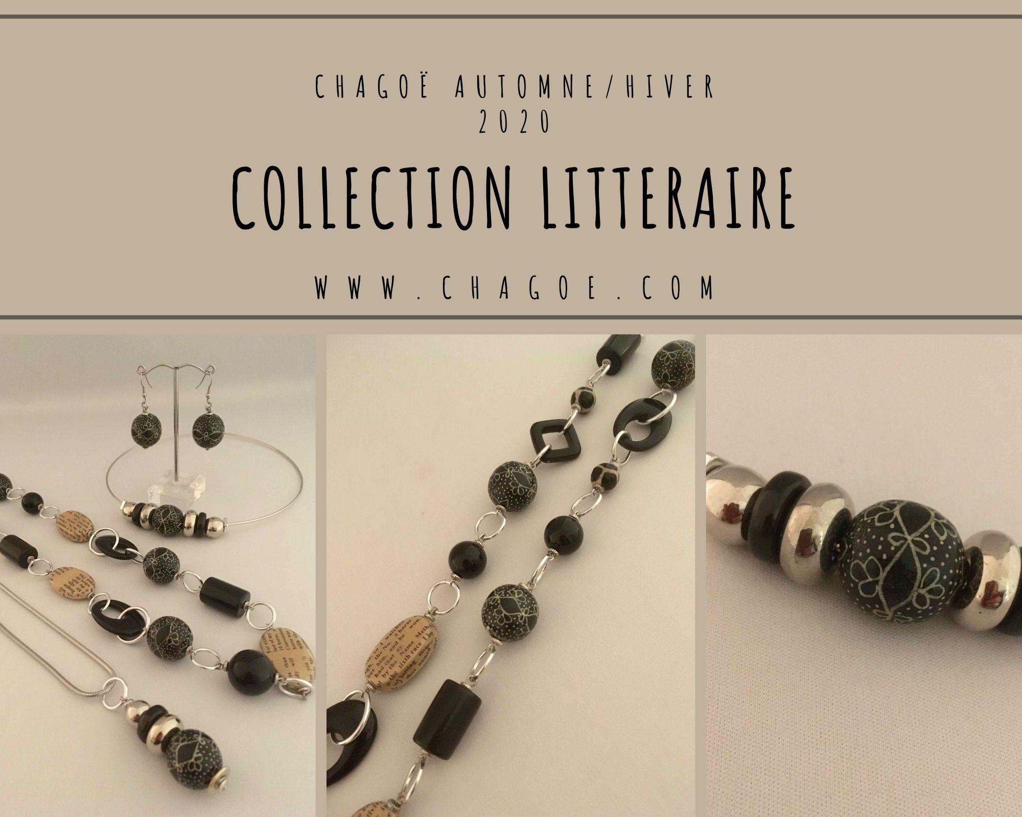 Collection LITTERAIRE, Créations Automne/Hiver Chagoë 2020
