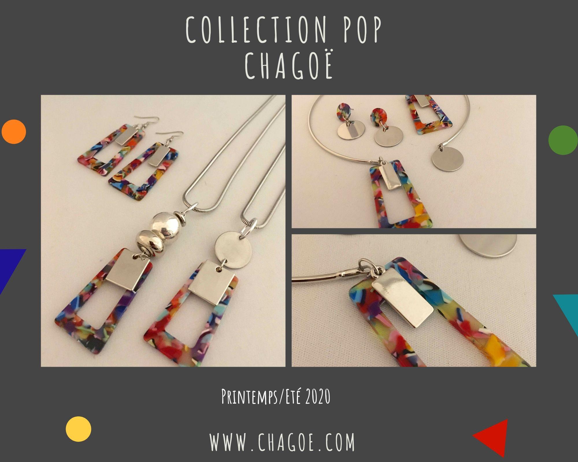 Collection POP, Créations Printemps/Eté Chagoë 2020