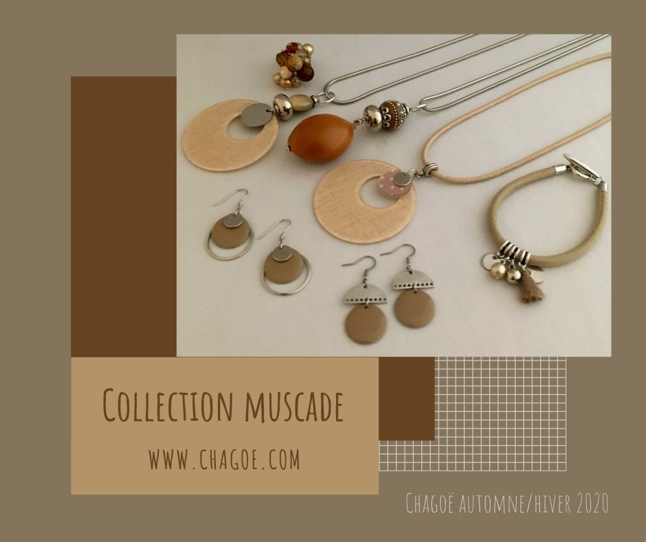 Collection MUSCADE, Créations Automne/Hiver Chagoë 2020