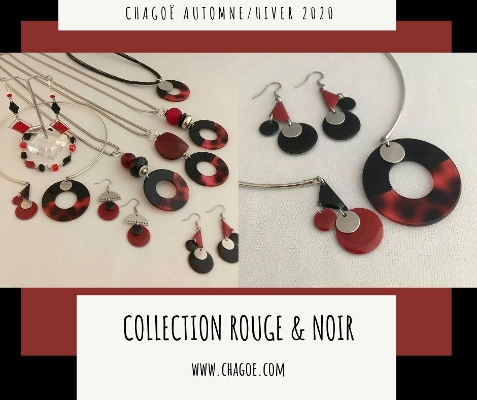 Collection ROUGE & NOIR Chagoë , Automne/Hiver 2020