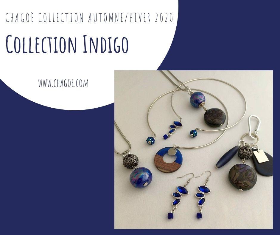 Collection INDIGO, Créations Automne/Hiver Chagoë 2020