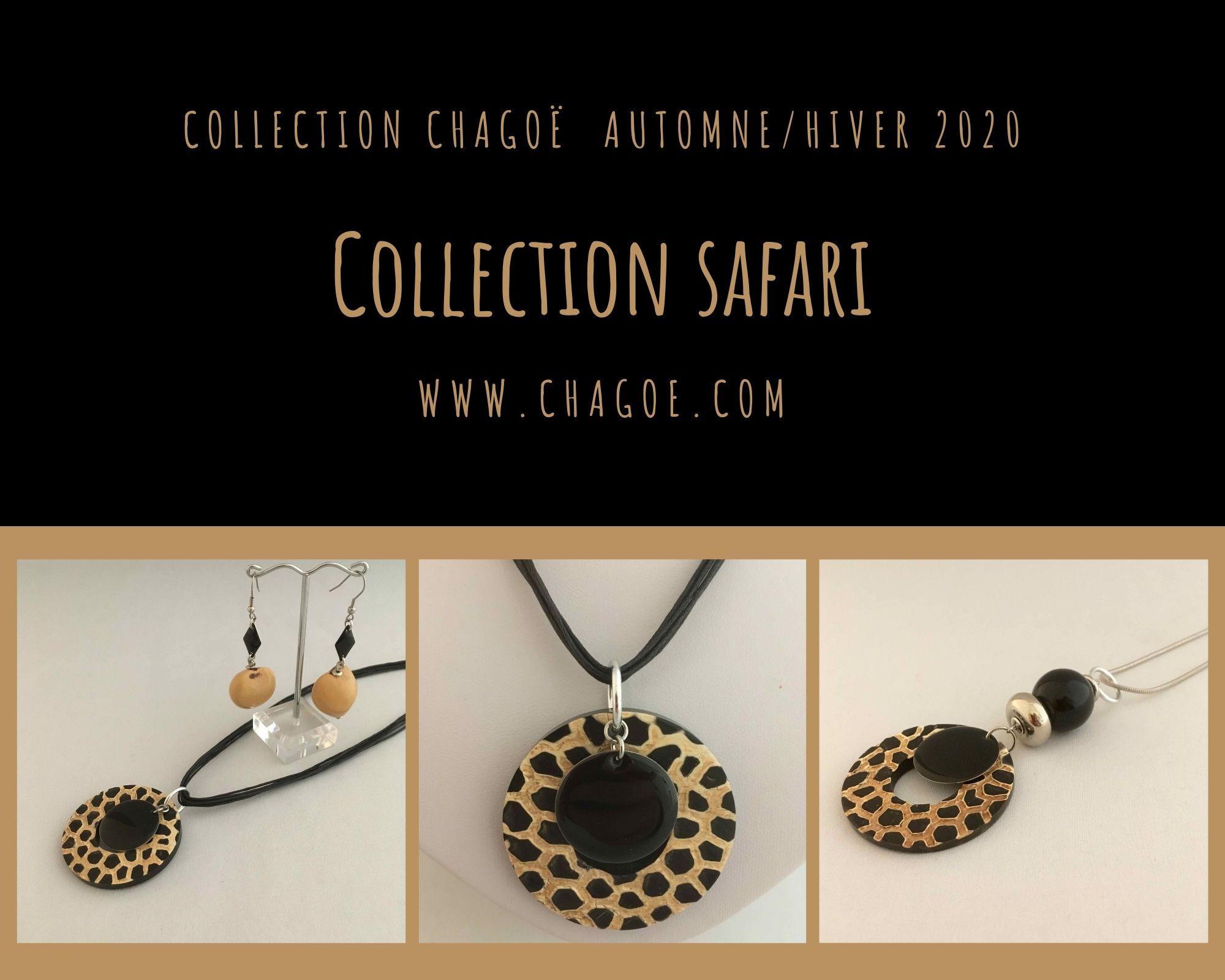Collection SAFARI, Créations Automne/Hiver Chagoë 2020