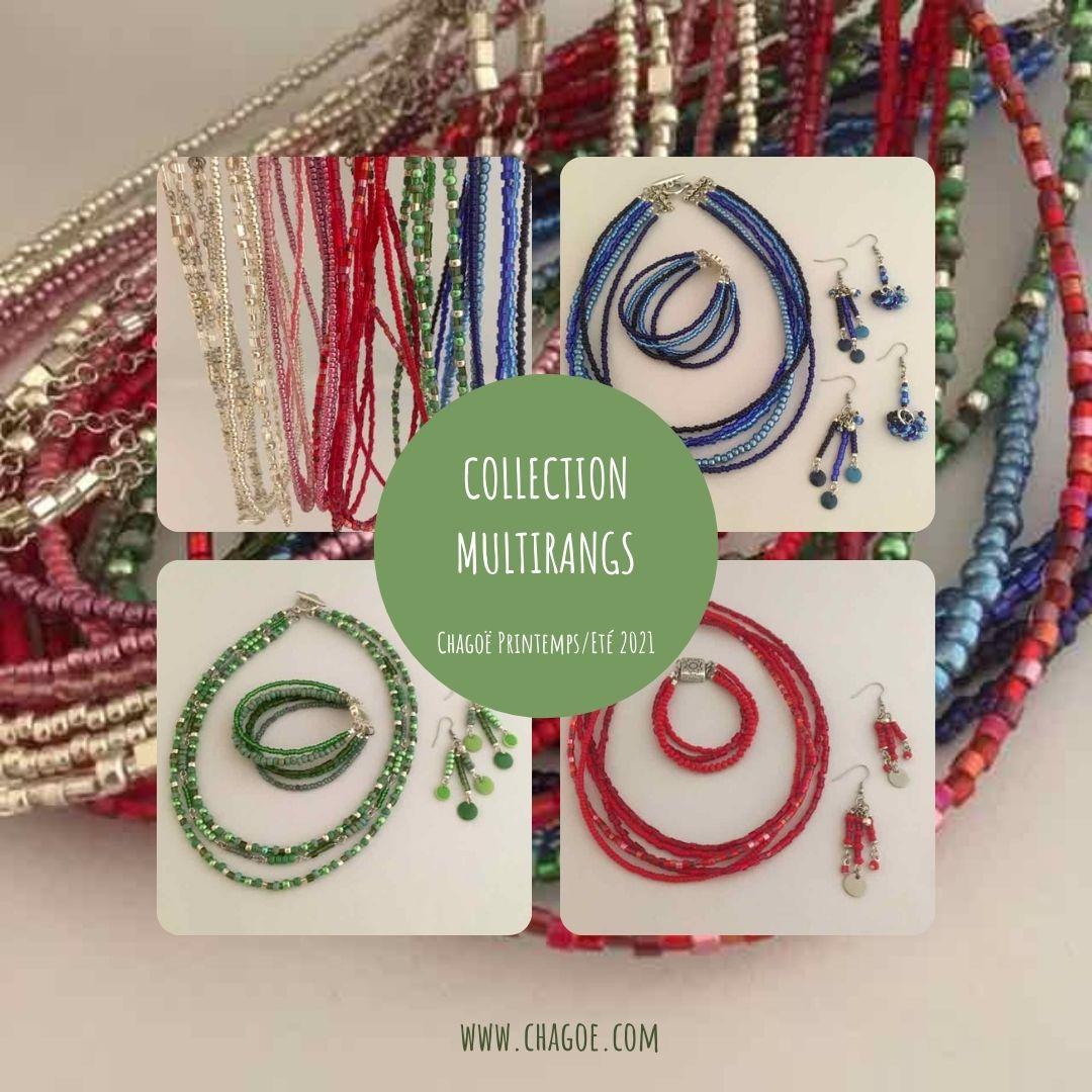 Collection MULTIRANGS Chagoë 2021