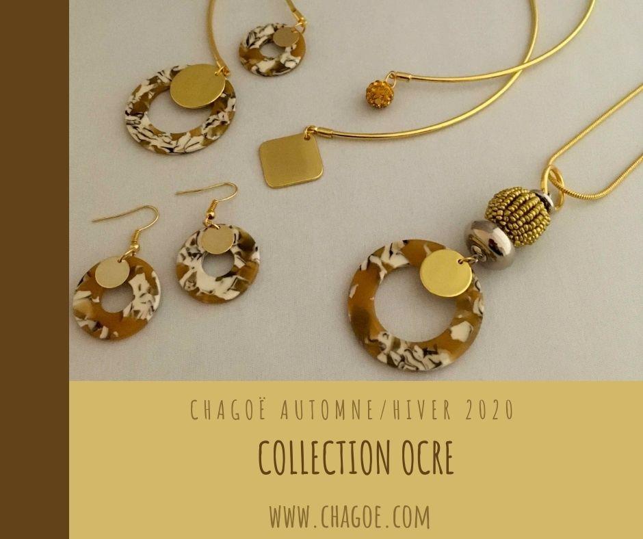 Collection OCRE, Créations Automne/Hiver Chagoë 2020