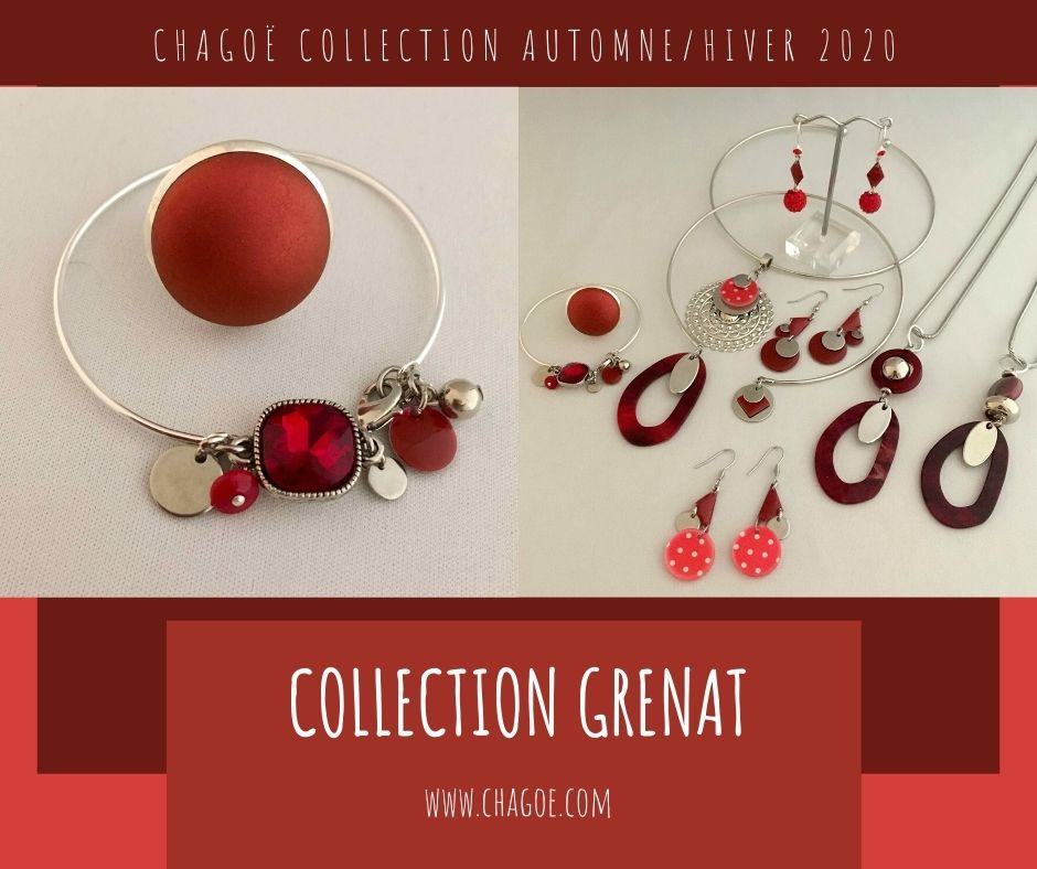 Collection GRENAT, Créations Automne/Hiver Chagoë 2020