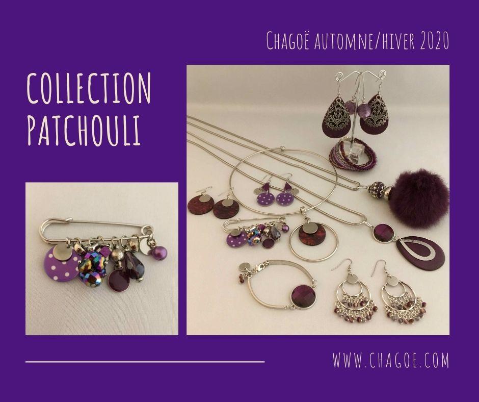 Collection PATCHOULI,  Créations Automne/Hiver Chagoë 2020