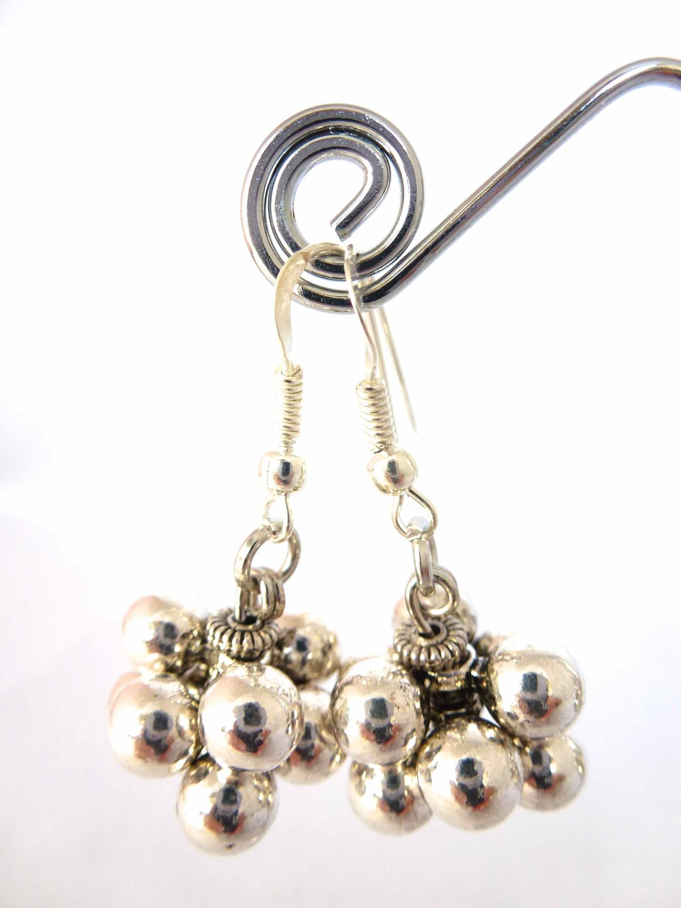 Bijoux Fantaisie: Boucles d'oreilles PERPLEXE , Collection Hiver 2015, Créations Chagoë