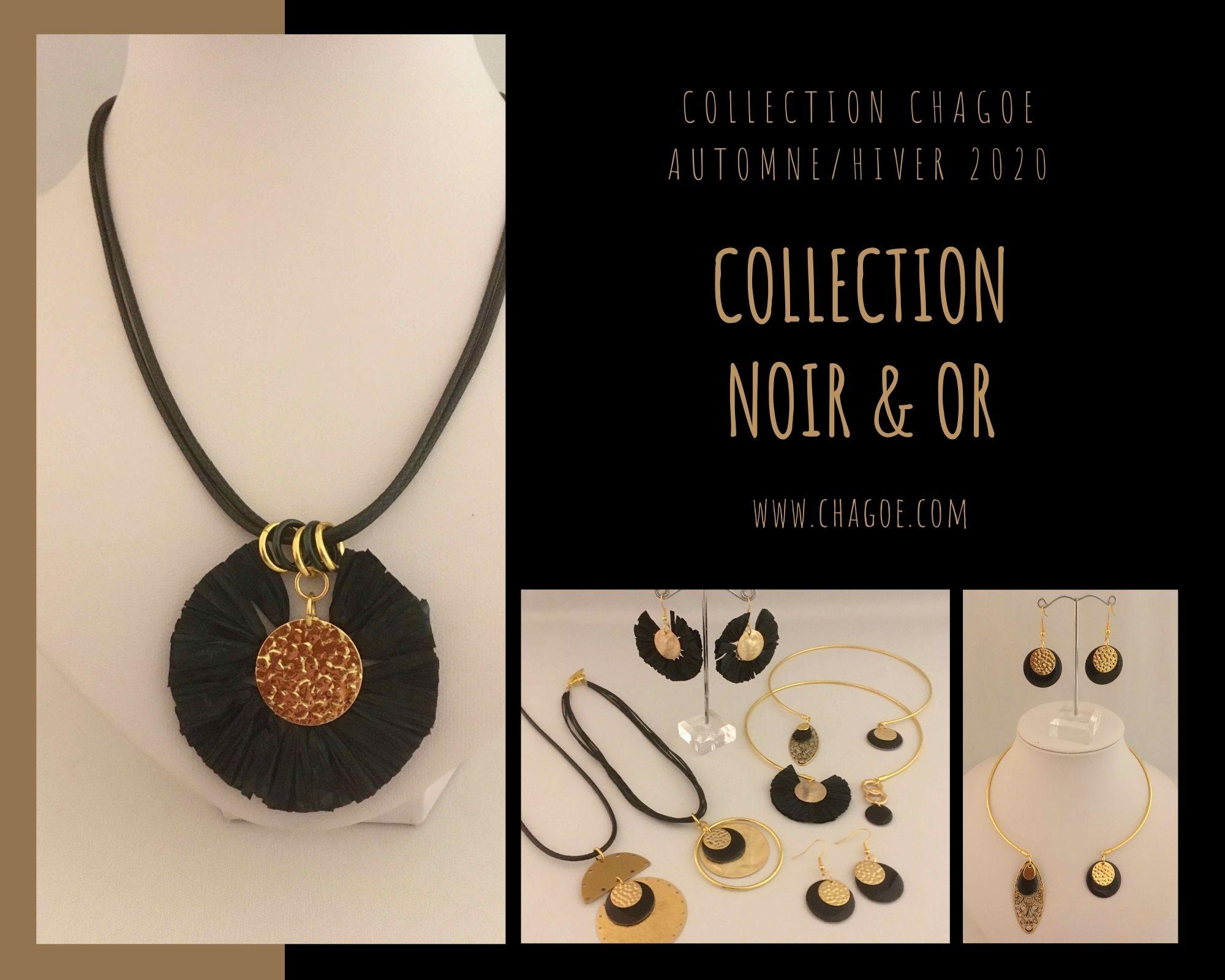 Collection NOIR  & OR Chagoë , Automne/Hiver 2020