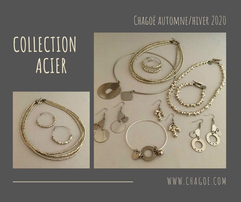 Collection ACIER, Créations Automne/Hiver Chagoë 2020