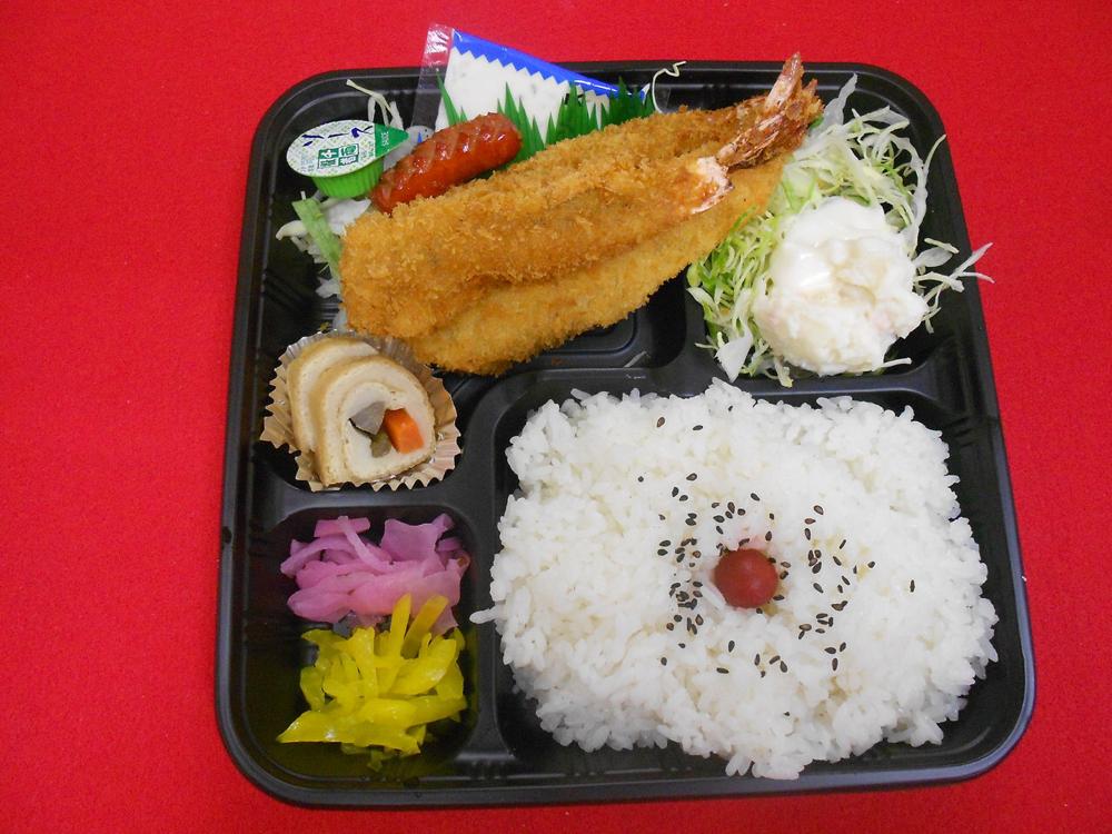 エビフライ弁当 720円