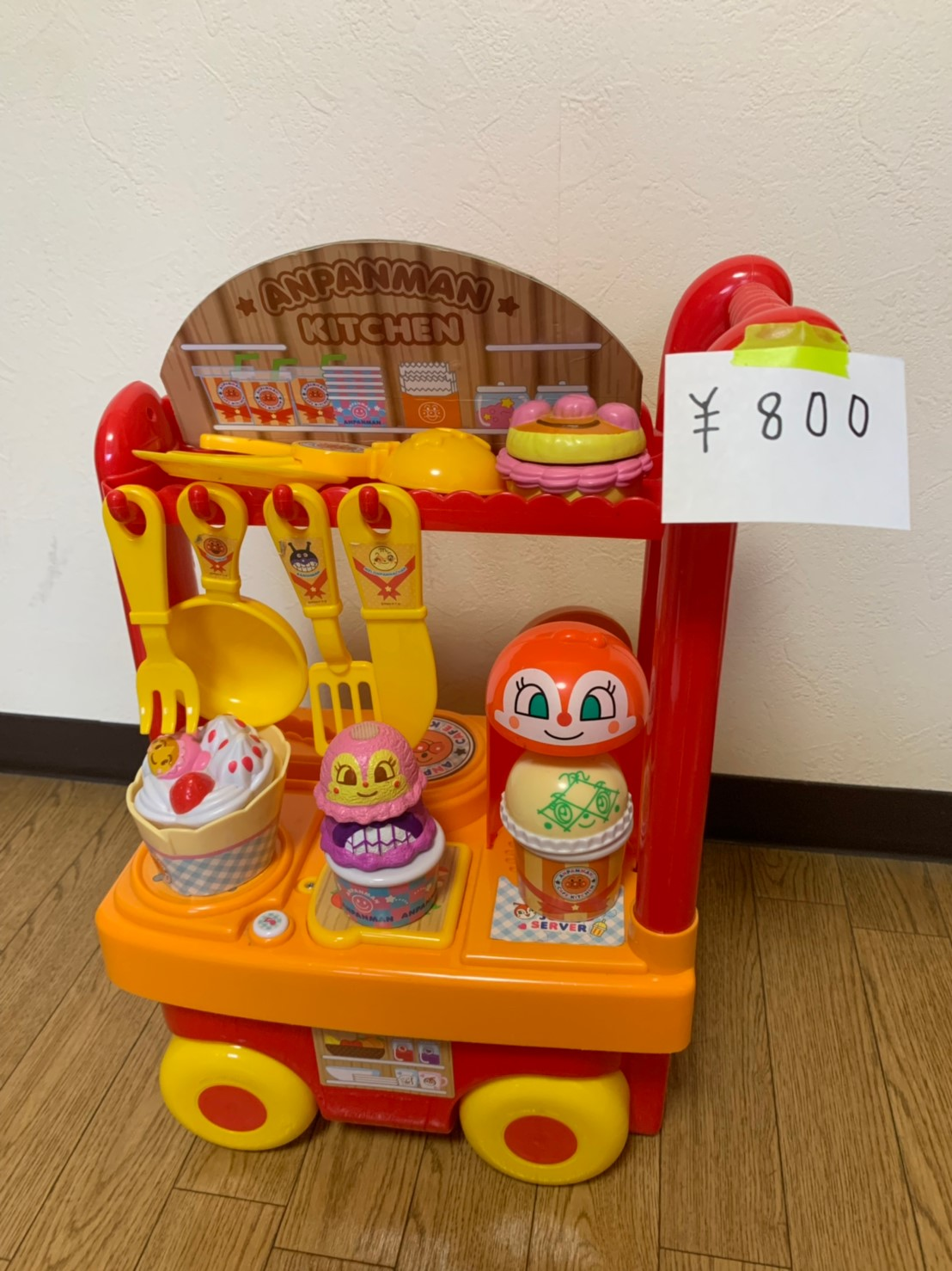 ④アンパンマンキッチン 800円 売切