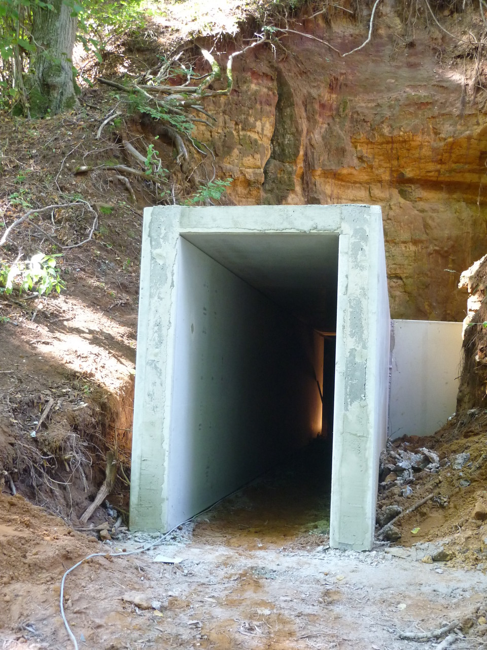 Projekt: Sanierungsarbeiten Zugang Sommerkeller