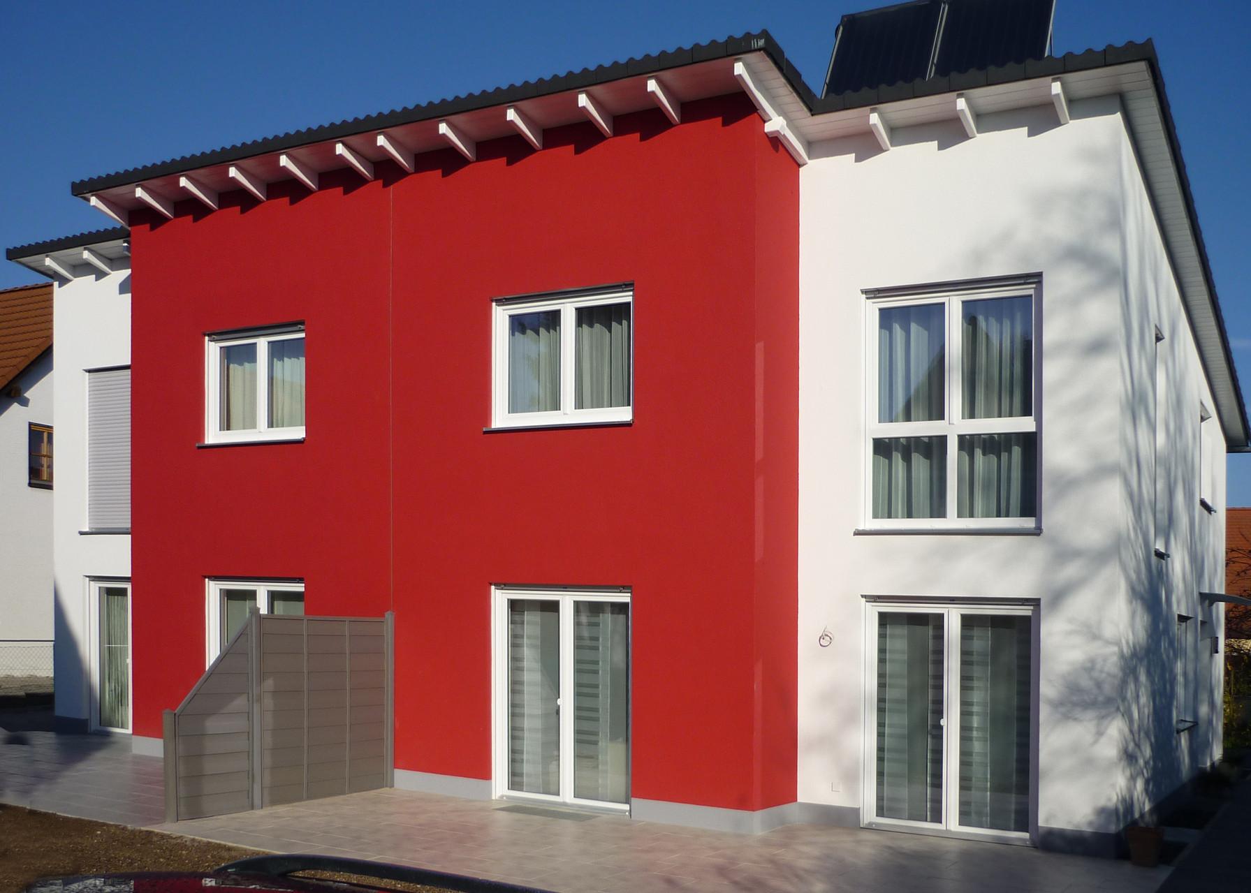 Projekt: Außenputz Doppelhaushälfte