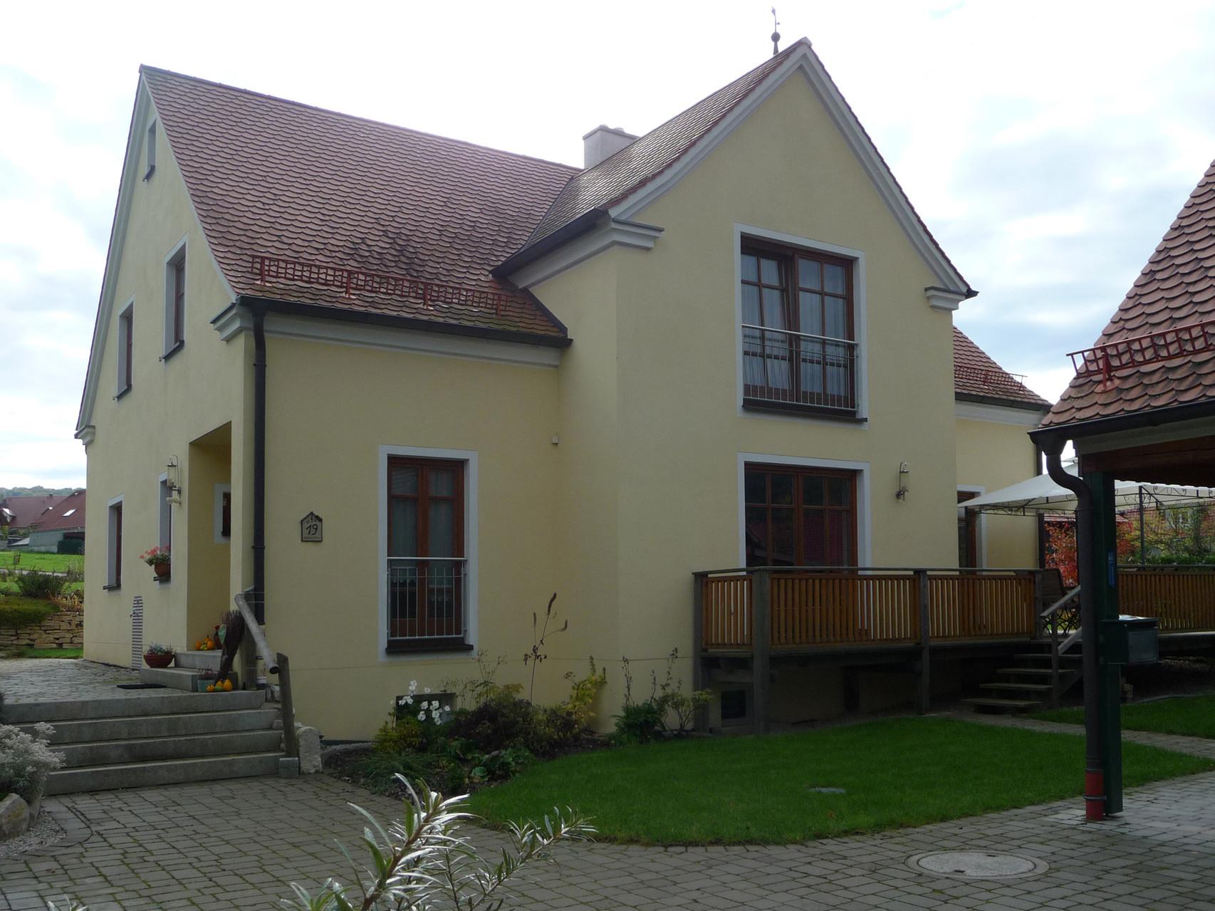 Projekt: Außenputz Einfamilienhaus