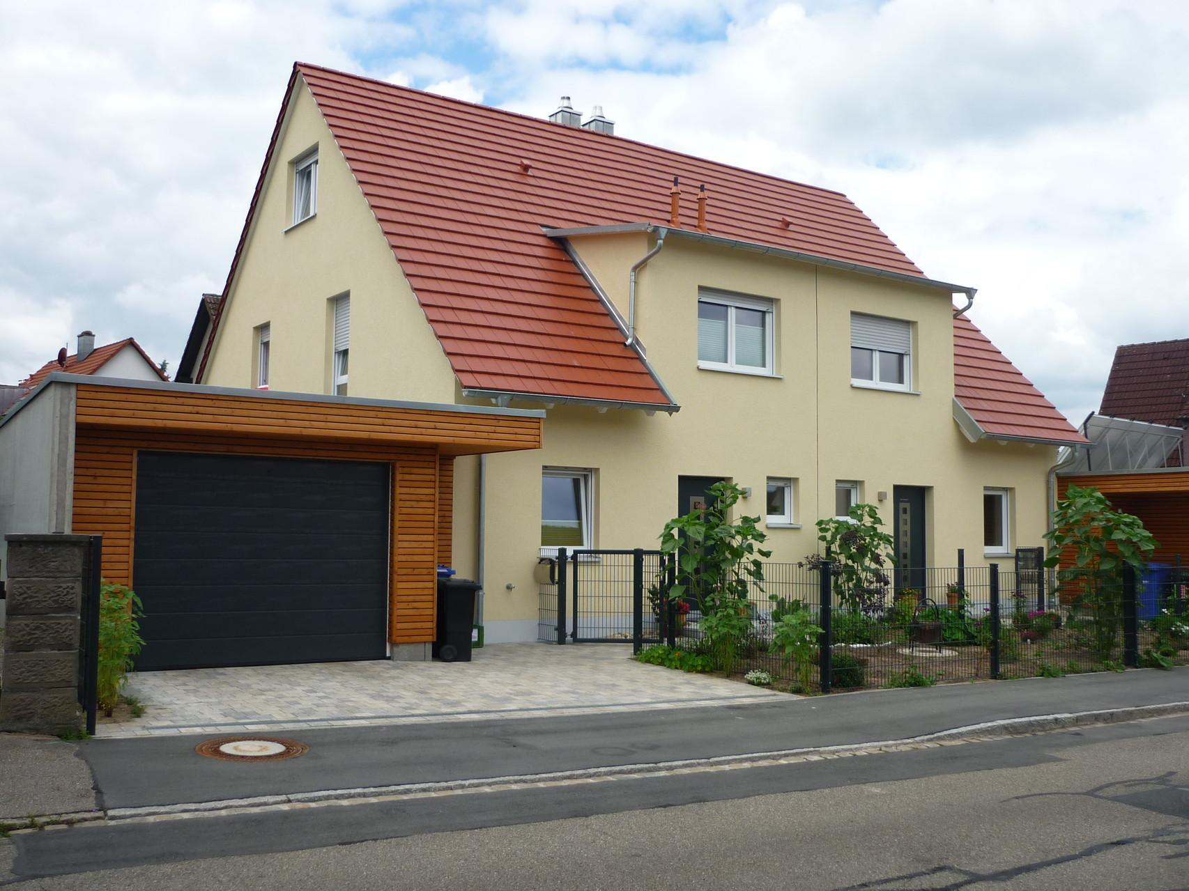 Projekt: Neubau Doppelhaus