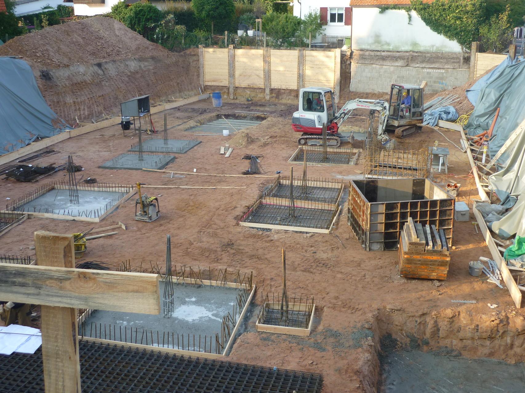 Projekt: Neubau – Wohnanlage mit Tiefgarage