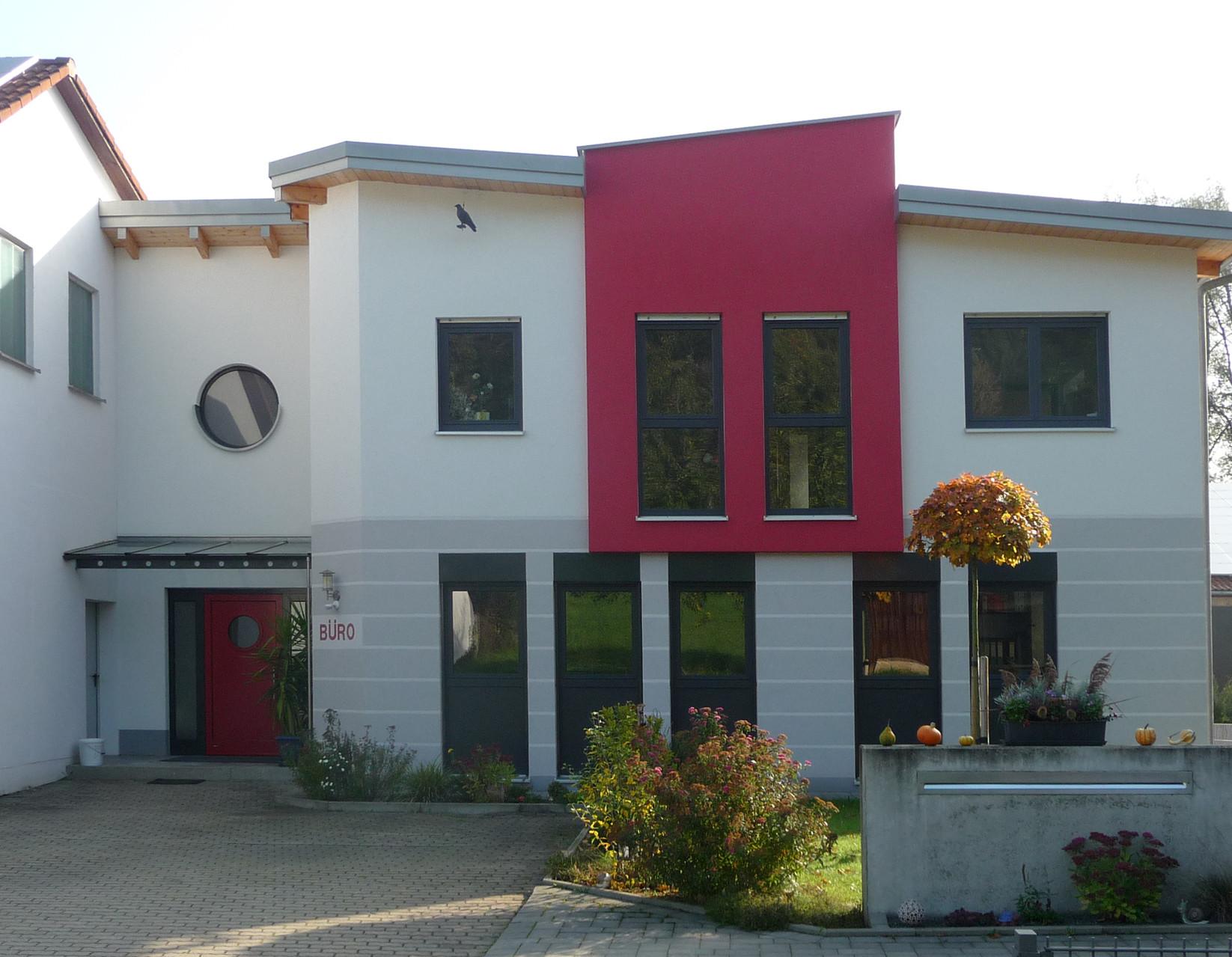 Projekt: Außenputz Gewerbegebäude
