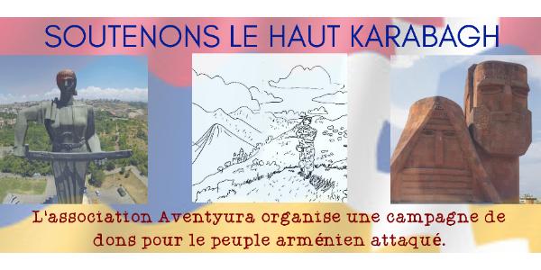 Collecte de dons pour le Haut Karabagh en Arménie