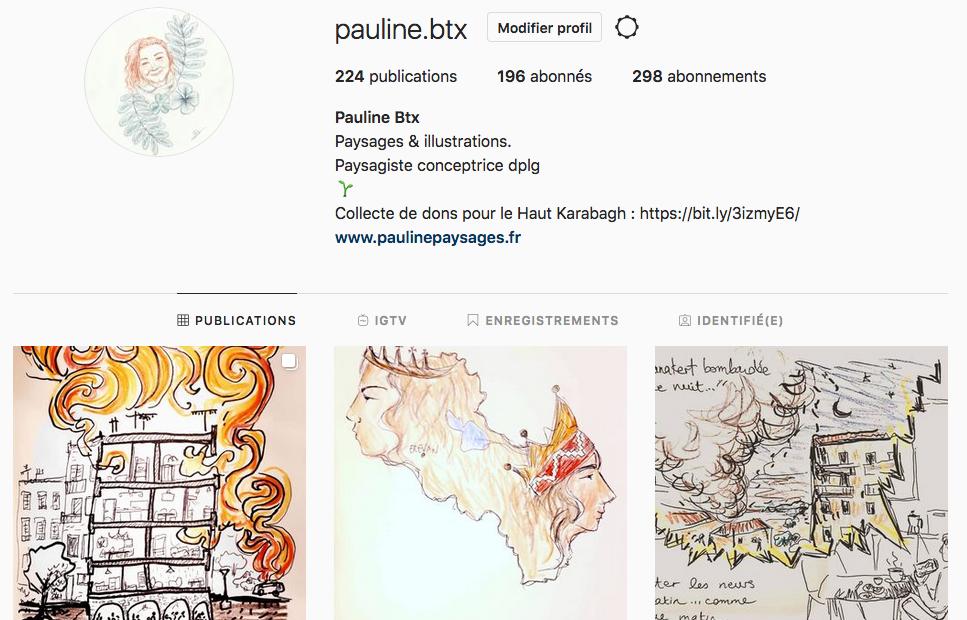 Vous pouvez retrouver toutes les illustrations sur mon compte instagram.
